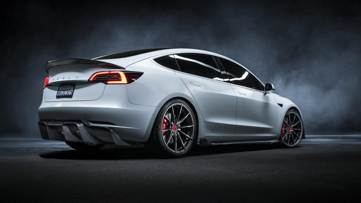 Modified Tesla Model 3